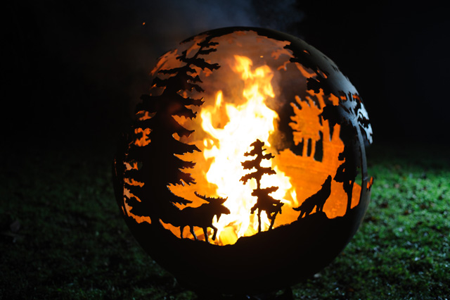The Wilderness Ball by The Firepit Company
