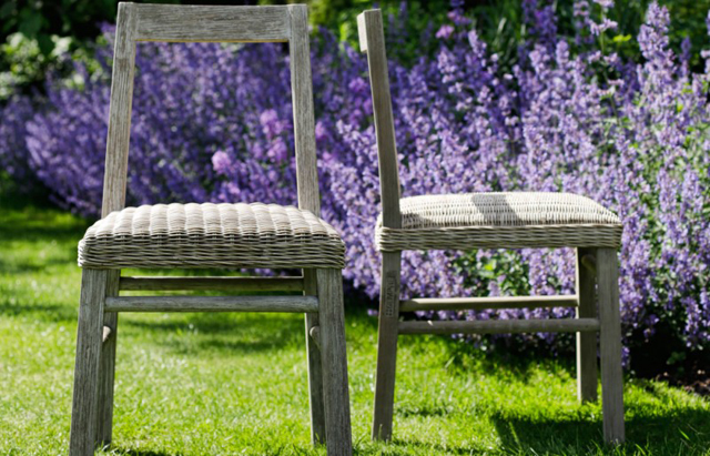 Caneo chairs by Oxenwood outdoor furniture