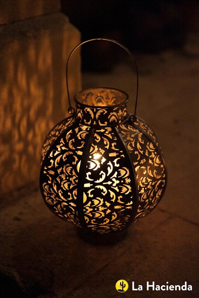 Globe lantern by La Hacienda