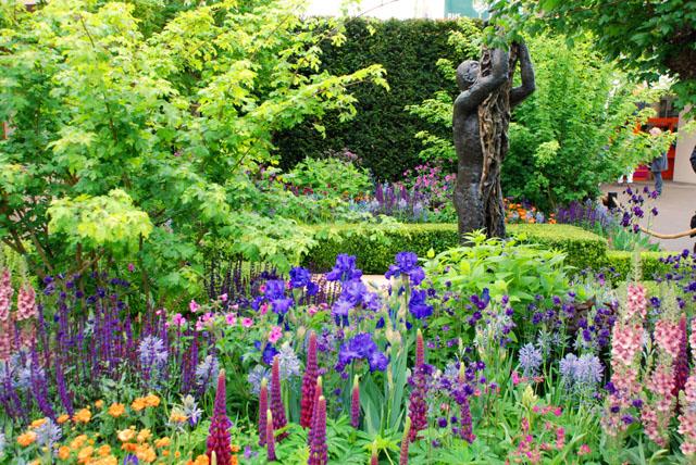 Healthy Cities Garden Chris Beardshaw RHS Chelsea 2015 Morgan Stanley Lisa Cox
