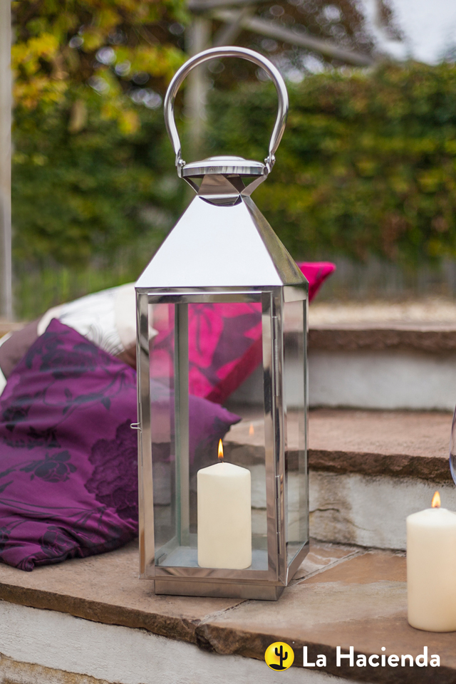 Outdoor lantern by La Hacienda Lisa Cox
