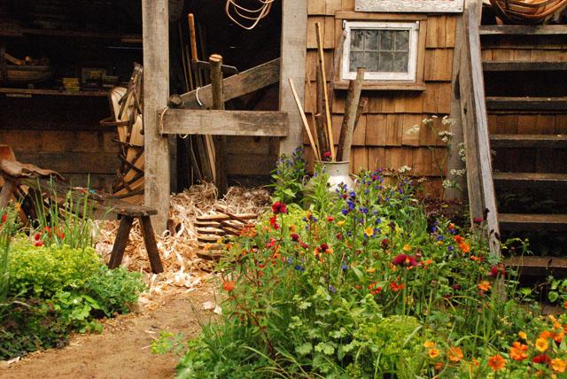 RHS Chelsea Flower Show 2015 A trugmaker's garden RHS Chelsea 2015 Lisa Cox
