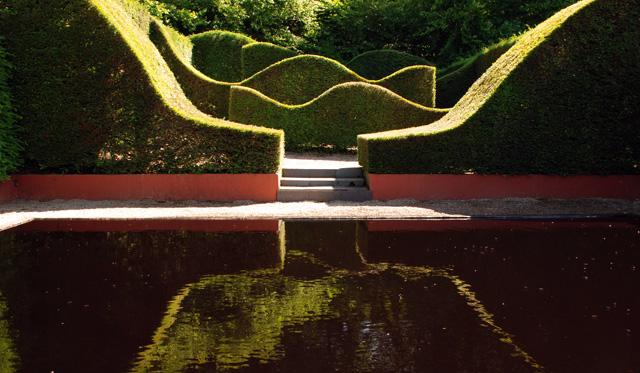 Pool Garden at Veddw Lisa Cox Designs