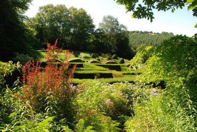 Veddw Garden South Wales Lisa Cox Designs