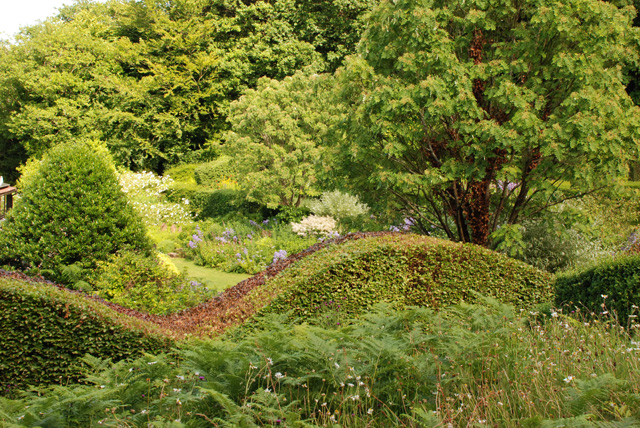 Veddw Garden near Devauden Lisa Cox Designs