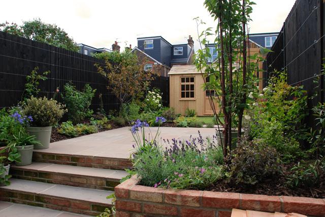 Plans for small gardens lisa cox garden designs blog - Garden summer house design ideas ...