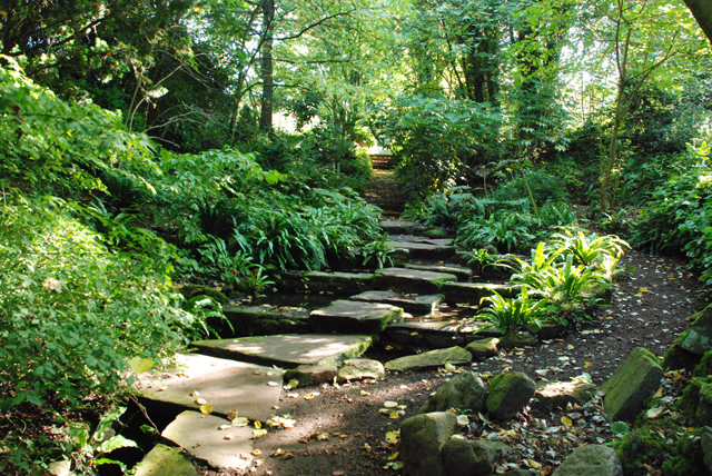 Hampton Court Castle gardens Lisa Cox