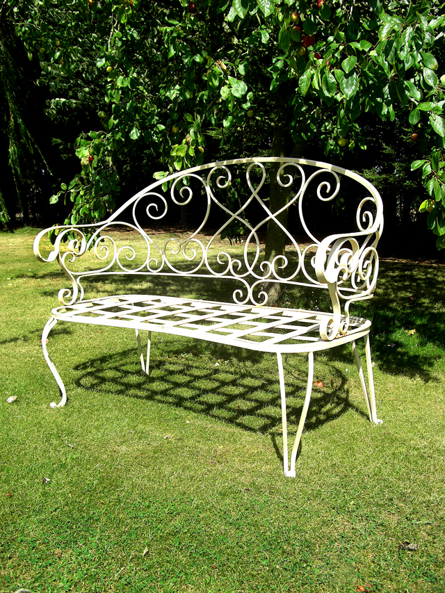 Cornish bench Black Country Metal Works