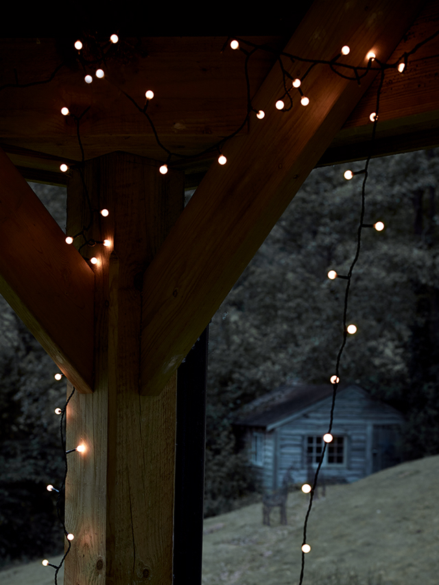 Dot string lights by Cox & Cox