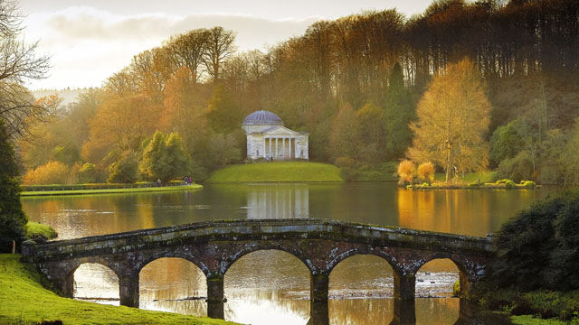 Lake at Stourhead National Trust