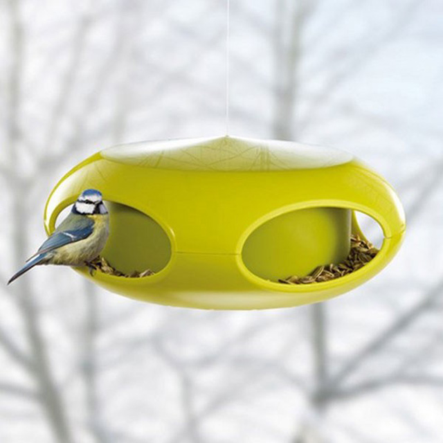 koziol-pip-bird-feeder-green Red Candy
