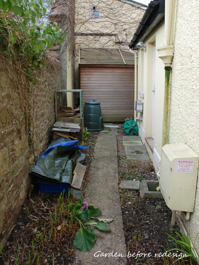 Driveway design lisa cox garden designs blog for Side of house garden design