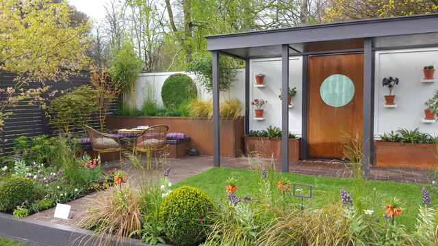 Alfresco Gallery Garden at RHS Cardiff 2016
