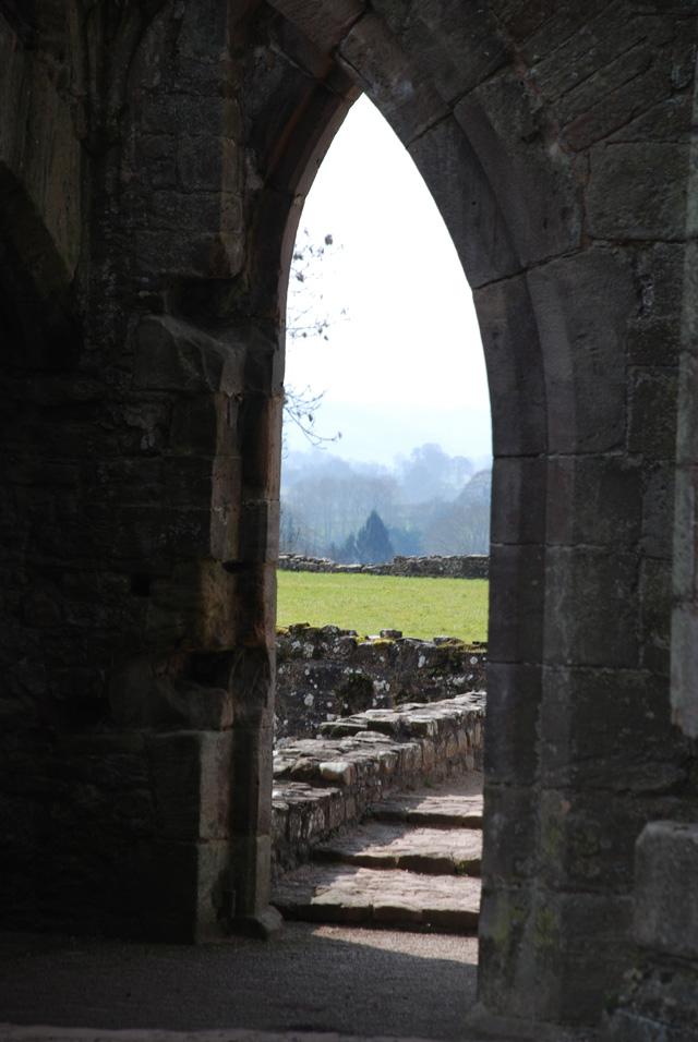 Archway at Raglan Castle Lisa Cox Designs