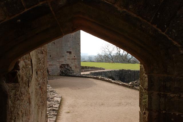 Large archway at Raglan Castle Lisa Cox Designs