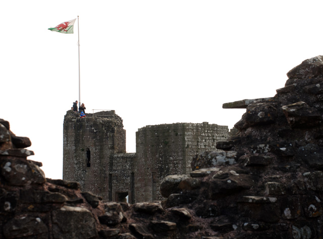 Raglan Castle Tower Lisa Cox Designs