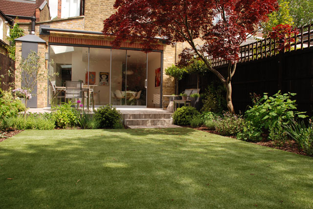 6 months on Chiswick Garden Lisa Cox Designs