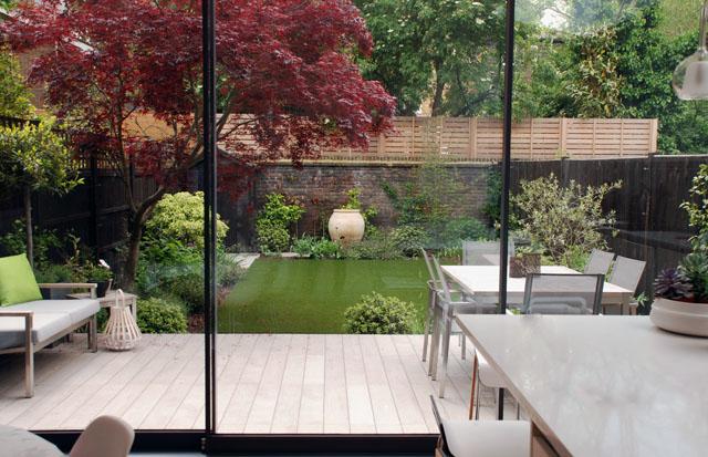 Chiswick garden after 6 months Lisa Cox Garden Designs