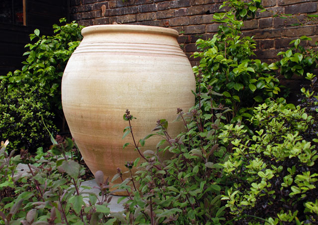 Urn from Pots & Pithoi Lisa Cox Garden Designs