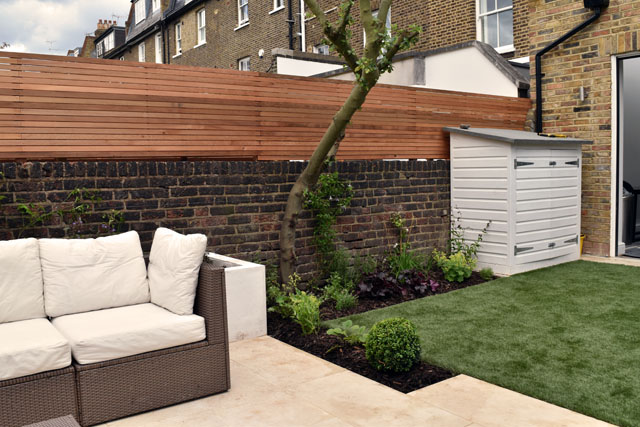 Hammersmith Garden after planting Lisa Cox Designs