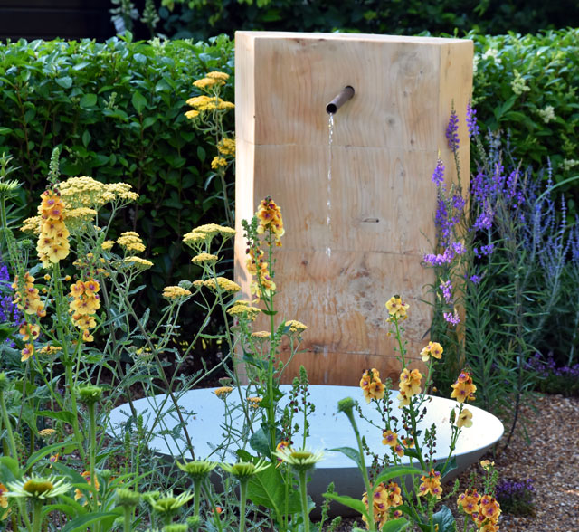 RHS Hampton 2016 Retreat Garden Lisa Cox