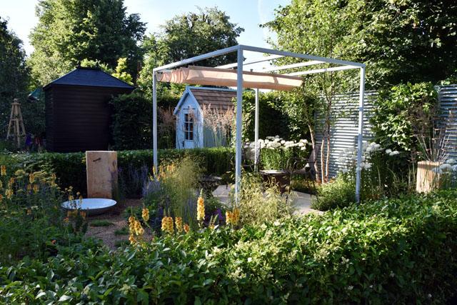 RHS Hampton Court 2016 Retreat Garden Lisa Cox