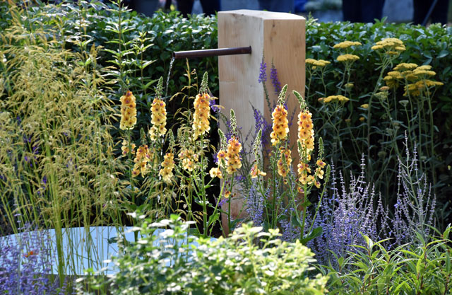 Retreat Garden RHS Hampton 2016 Lisa Cox