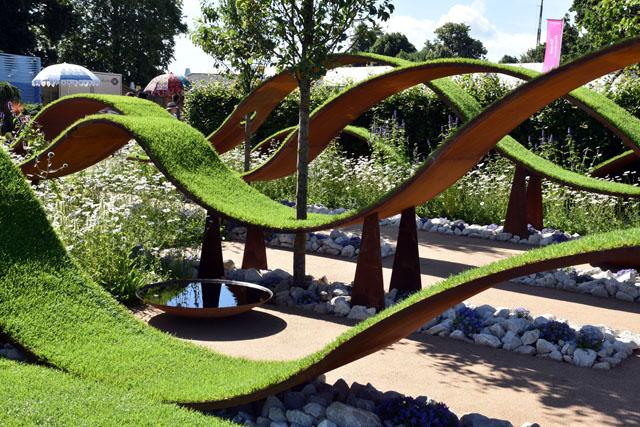 World Vision Garden RHS Hampton 2016 Lisa Cox