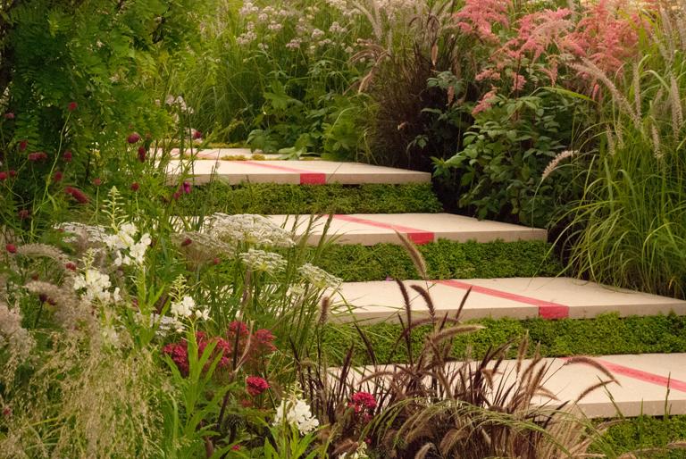 Bridge over Troubled Water Show Garden Hampton Court 2012