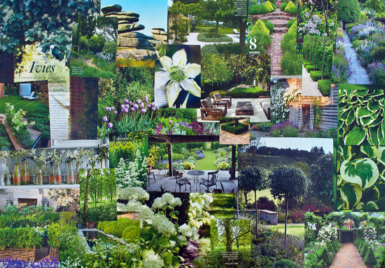 Mood Board Lisa Cox Garden Designs Blog
