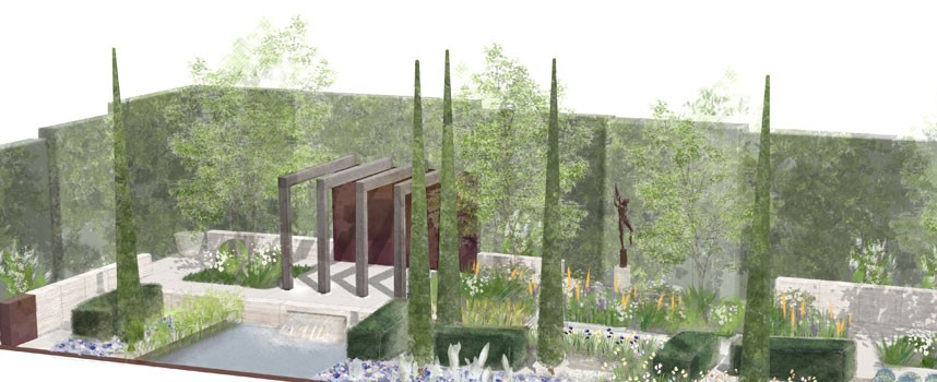 Laurent Perrier garden RHS Chelsea Flower Show 2013