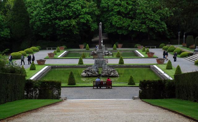 Italian garden blenheim lisa cox garden designs blog for Capability brown garden designs