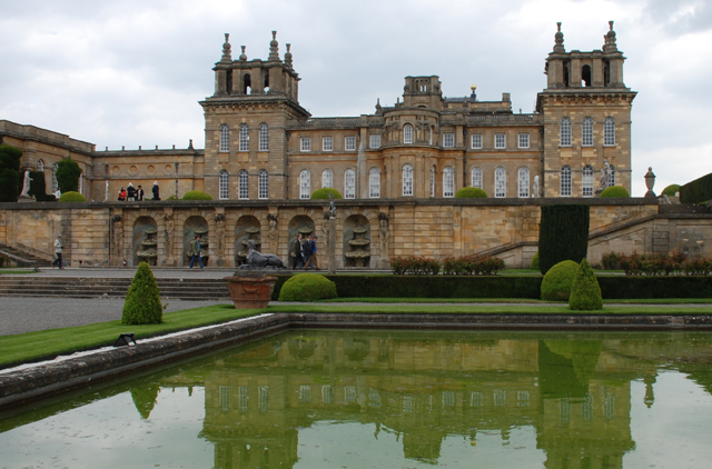 The Water Terrace Gardens at Blenheim Palace by Lisa Cox