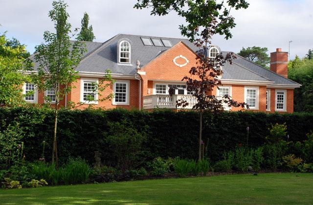 Instant Hedge from Practicality Brown Oxshott garden design Lisa Cox