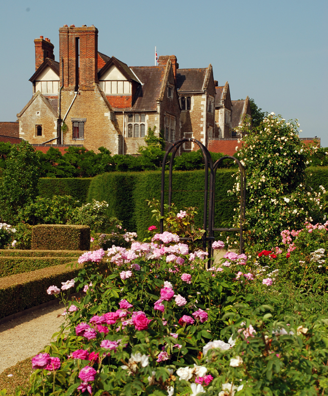 The Rose Garden at Loseley Park Lisa Cox Designs