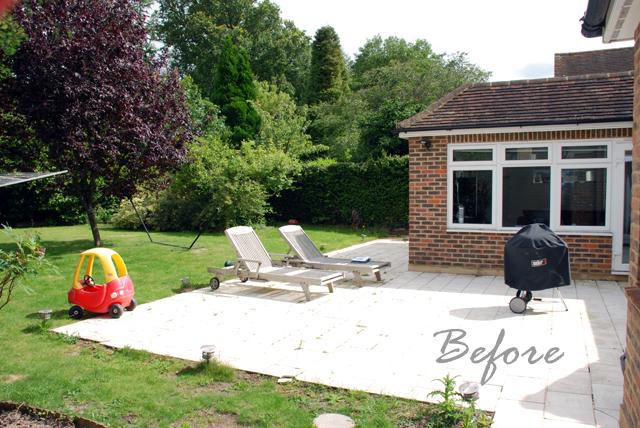 East Horsley back garden before redesign Lisa Cox
