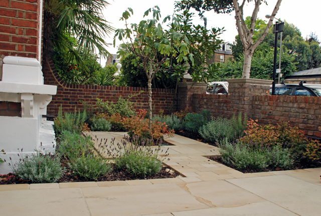 Front garden design Wandsworth Lisa Cox