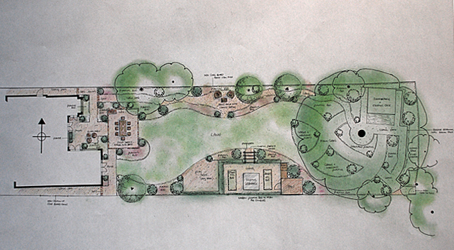 Garden Design for East Horsley Lisa Cox