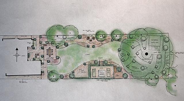 Garden Design for East Horsley Lisa Cox