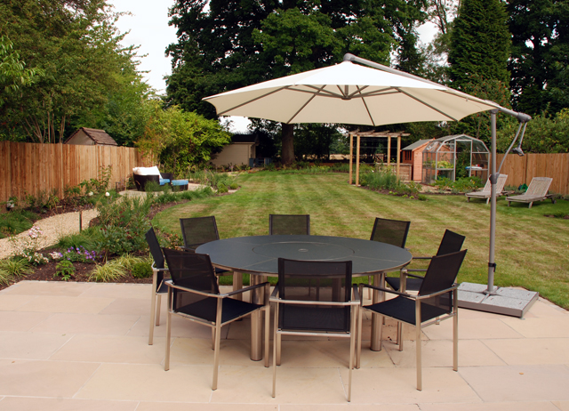 New garden at East Horsley Lisa Cox Designs