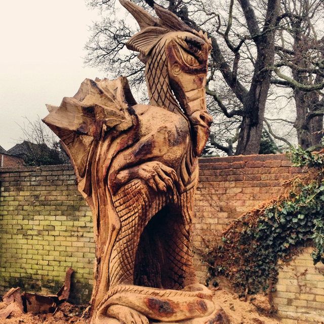 Shepperton Dragon by Ella Fielding