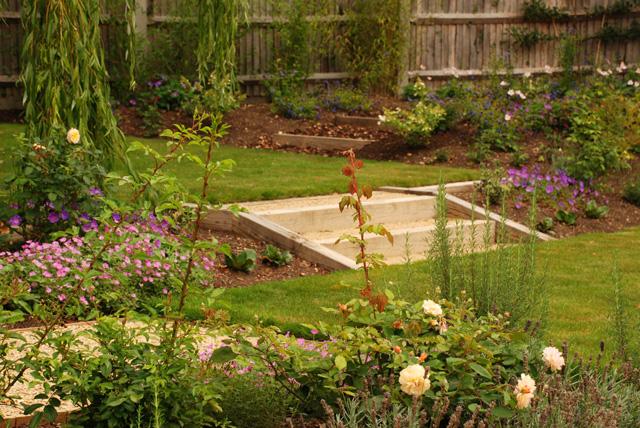 Dealing with sloped gardens lisa cox garden designs blog for Garden design blogs