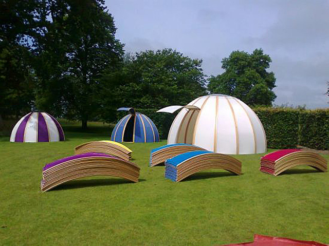 Transportable pods by Unidome