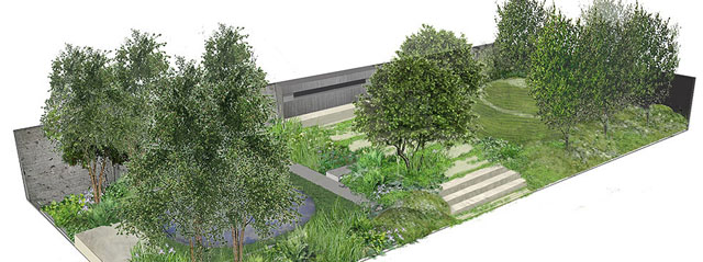 RHS Chelsea 2014 No Man's Land - ABF The Soldiers' Charity Garden to mark the centenary of WWI Charlotte Rowe