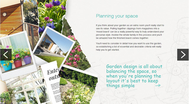 Planning your space - M&S Bank article by Lisa Cox Garden Designs