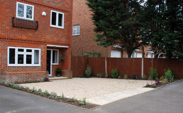 Sutton front garden after planting Lisa Cox Designs