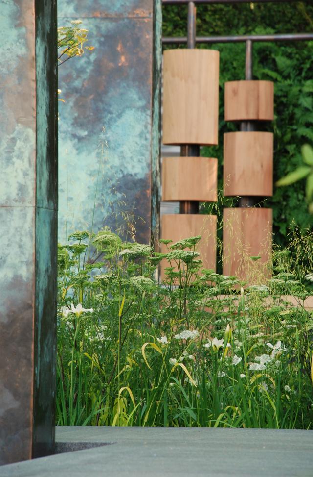 Archways & columns Brewin Dolphin Garden Lisa Cox Chelsea 2014