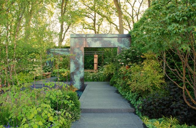 Archways in Brewin Dolphin Garden Chelsea 2014 Lisa Cox