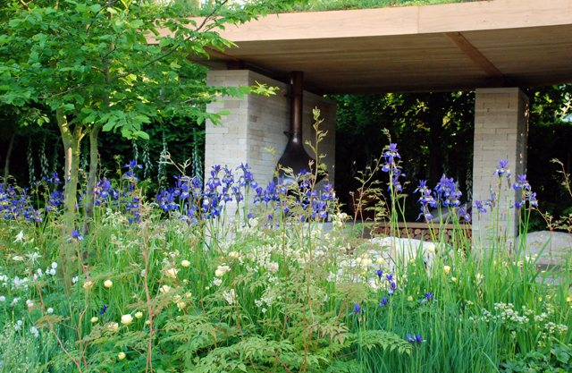 Homebase Garden RHS Chelsea Flower Show 2014 Lisa Cox Designs