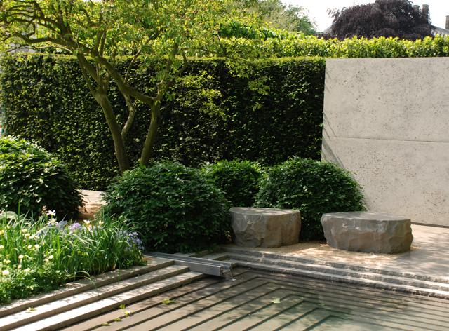 RHS Chelsea 2014 Laurent Perrier Garden Lisa Cox Designs